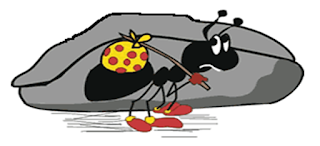 Never show a negative attitude in your work  : The story of an ant , a fable or may be real life